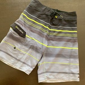 Boys' All Day Stripe Pro Boardshorts